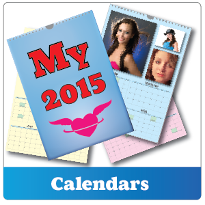 personalised four page calendar