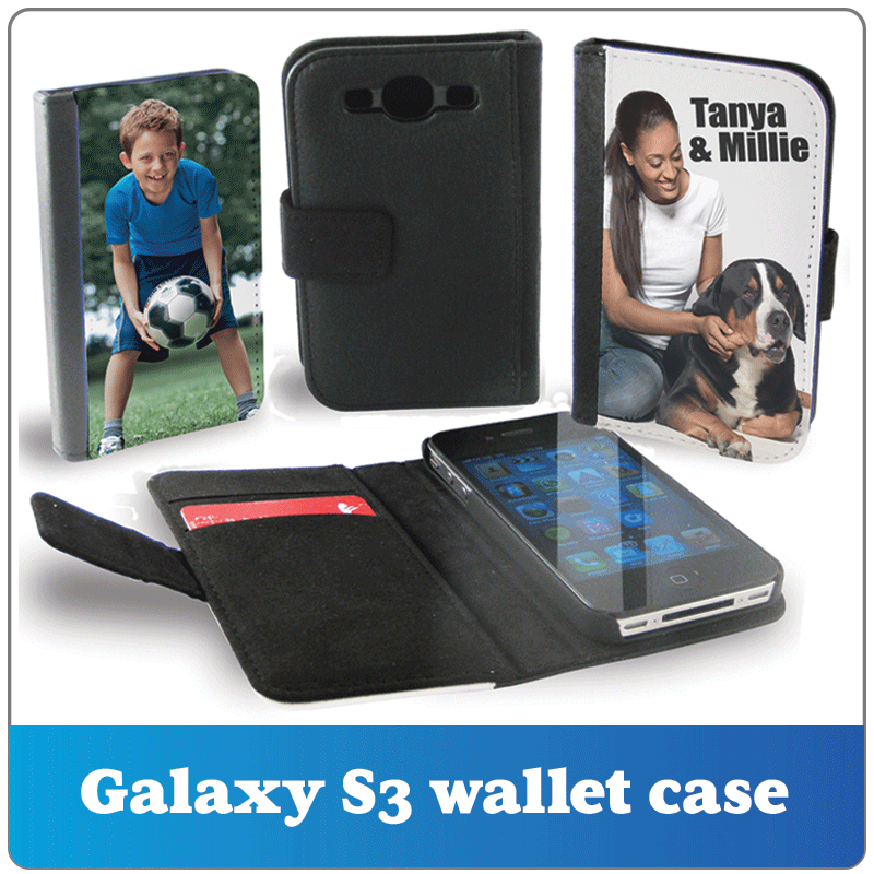 Personalised galaxy s3 wallet case