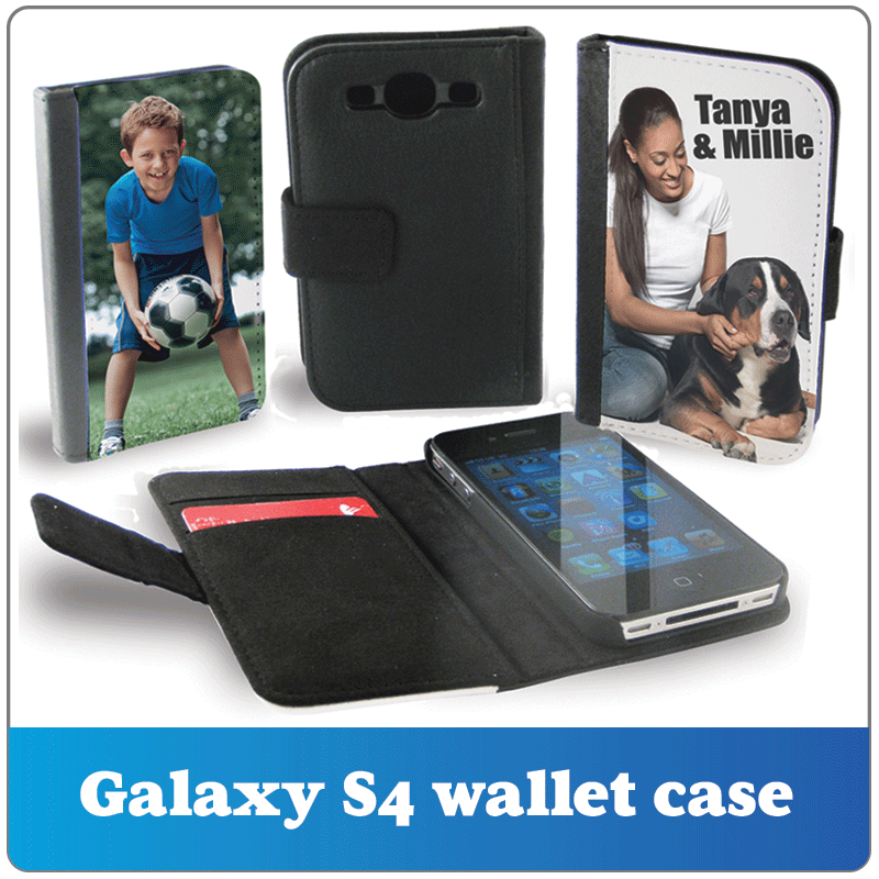 Personalised Galaxy s4 wallet case