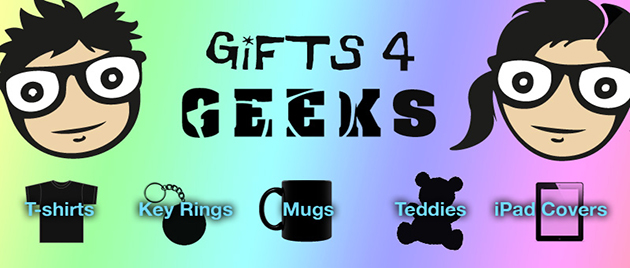 Personalised gifts for geeks