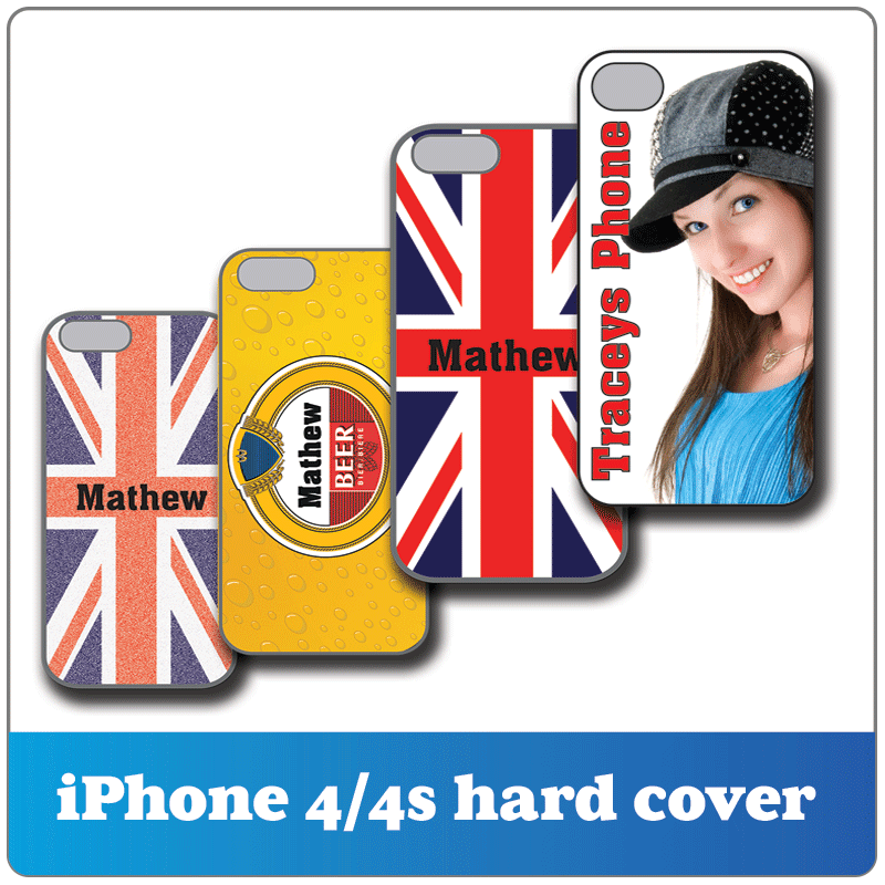 cool iphone 4 cases ready for personalisation.