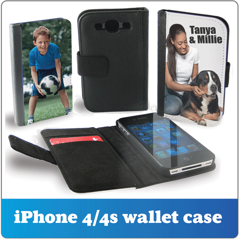 Personalised iphone 5 wallet case